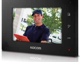 KOCOM KCV-D372 HANDS FREE COLOR VIDEO INTERCOM
